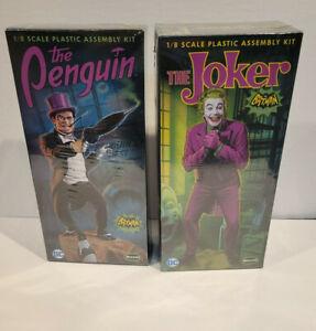 Moebius Models Batman 1966 TV Joker and The Penguin (1:8 Scale)