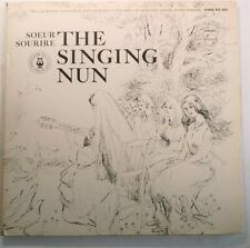 The Singing Nun, Vintage LP Album With Art, Watercolor Inserts