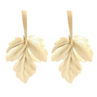 Fashion Women Big Gold Leaf Statement Geometic Dangle Drop Stud Earrings Jewelry