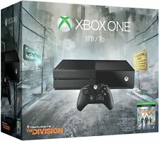 NEW MICROSOFT XBOX ONE 1TB TOM CLANCY'S THE DIVISION CONSOLE BUNDLE BLACK