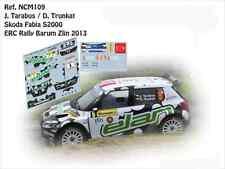 DECALS 1/43 SKODA FABIA S2000 - #9 TARABUS - RALLYE ERC DU BARUM 2013- NCM109