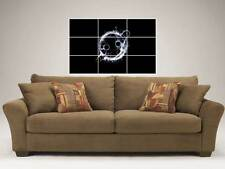 """KNIFE PARTY 35""""X25"""" INCH MOSAIC WALL POSTER DUBSTEP DRUM & BASS"""