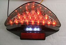 BMW R1200 GS, F650GS & F800J LED light smoked rear tail light E marked OEM fit