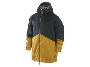 NEW NIKE KAMPAI SNOWBOARD SKI JACKET XS golden hops 479696 353 NWT $180 coat