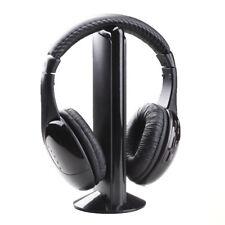 Wireless Headphones Headset Cordless RF Mic iPad Laptop PC TV Gaming Phone Xbox