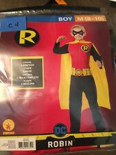 NEW Halloween Costume Boy's Robin From Batman  Medium (8-10) Rubies