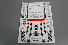 RC Drift POTENZA S14 SILVIA SKYLINE D1 GP FACEWORX Decal Sticker