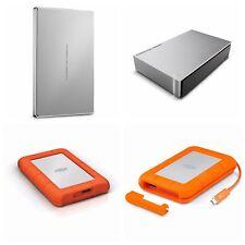 """1TB 2TB 4TB 8TB LaCie Portable HDD External Hard Drive 2.5"""" USB/USB-C NEW"""