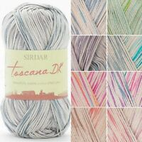 Sirdar Toscana Cotton DK Double Knitting Knit Crochet Crafts 100g Ball