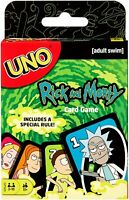 Mattel Games Rick and Morty UNO Card Game