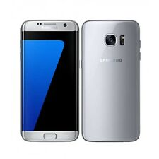 GRADE D | Samsung Galaxy S7 Edge 4G | 32GB | Silver | Unlocked | Smashed Back
