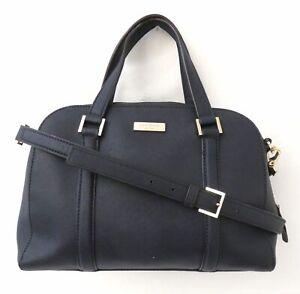 Kate Spade Black Saffiano Leather Satchel  Handbag Purse