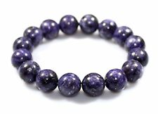 12 MM Natural Rare Purple Sugilite Bracelet Armband Healing Crystal Birthday i