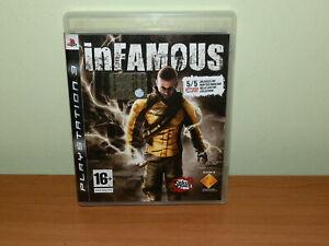 INFAMOUS PS3 PLAYSTATION 3 USATO SICURO VERSIONE ITALIANA