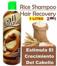 1 Arroz Shampoo CreC Estimula el Crecimiento Rice Shampoo Stimulates Hair Growth
