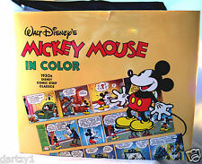 Disney Mickey Mouse in Color by Floyd Gottfredson (1988, Hardcover)