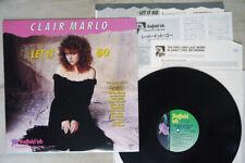 CLAIR MARLO LET IT GO SHEFFIELD TLP-29 Japan VINYL LP