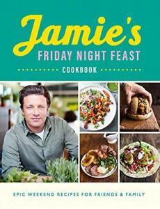 Jamie's Friday Night Feast Cookbook New Paperback Book