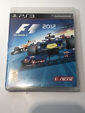 SONY PLAYSTATION 3 PS3 F1 FORMULA 1 2012 RACING CIB TESTED WORKS