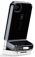 Speck CandyShell Flip Cover Case schwarz/grau iPhone 4/4s kostenlose Bildschirmschutz