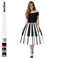 Damen Mädchen Sommer TOP Rock Sommerrock Röcke Petticoat NEU R10