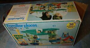 1974 Playskool USA Familiar Places Holiday Inn Playset Set in Original Box Wow