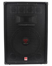 "Rockville RSG15.4 15"" 3-Way 1500 Watt 4-Ohm Passive DJ/Pro Audio PA Speaker"