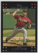 2007 Topps Baseball Houston Astros Team Set
