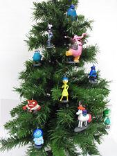 Disney Inside Out Deluxe Christmas Ornaments 10pc Set Rainbow Unicorn, Bing Bong
