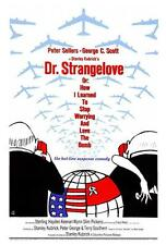 Dr. Strangelove Movie POSTER 27 x 40 Peter Sellers George C. Scot A LICENSED NEW