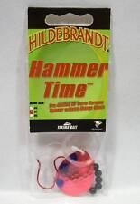 Hildebrandt Hammer Time #5 Metallic Cerise Red Spinner Fishing Lure Walleye