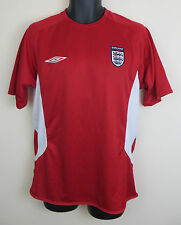 England Football Shirt Umbro Training Soccer Jersey Trikot Maglia Medium M