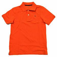 Tommy Hilfiger Kids Polo Shirt Big Boys Mesh Collared Short Sleeve Xl 16-18 New