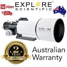 Explore Scientific ED80mm F/6 APO triplet refractor telescope astronomy