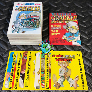 1978 FLEER CRACKED MAGAZINE COMPLETE 56-CARD/10-STICKER SET+WRAPPER mad sick gpk
