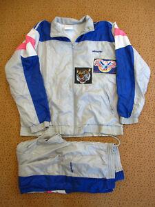 Survetement ADIDAS Nylon Polyester 80'S veste + Pantalon Tracksuit - 174 / M