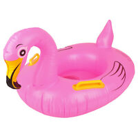Baby Seat Float Swimming Ring Inflatable Flamingo pool Float swimming Toys