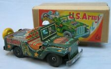 Tin US Army Jeep - Excellent in the Box