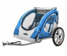 InStep Trailer Blue Padded Seat Zippered Bug Screen Folding Frame Universal