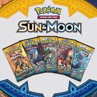 50x Pokemon Cards Bundle Sun & Moon: Base Set - ? RARE HOLOS GUARANTEED
