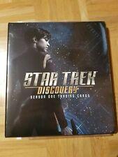 Star Trek Discovery Season 1 Trading Cards Binder/Ordner inkl. Promo Cards P1-P4