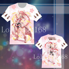 Anime Yuki Yuna is a Hero T-shirt Tee Top Cosplay Costume Summer Unisex Gift