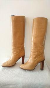 "Boots Vintage 1982 "" Gold Clear "" - Bruno Magli Bologna T.37,5"