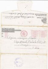 1945 POW CAMP 48 PRESTEIGN RADNORSHIRE WALES CACHET ON LETTER TO FIRENZE ITALY