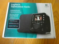 Logitech Squeezebox Radio Digital Media Streamer with rechargeable battery