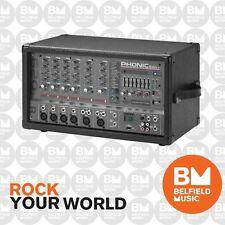 Phonic Powerpod 620R 6-Channel 200w Powered Mixer w/ USB and DFX - BNIB - BM