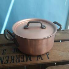 Falk Culinair Copper Casserole with lid 6 inch