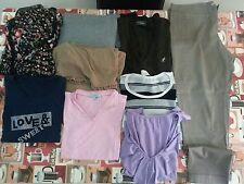 Lotto 169 stock 9 pezzi abbigliamento ragazza donna maglie Tg.L pinocchietto TG.