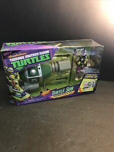 Nickelodeon Teenage Mutant Ninja Turtles TMNT Turtle Sub with Leo Factory Sealed