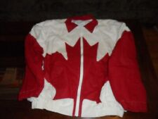 CANADIAN FLAG JACKET U.S.A. XL MAPLE LEAF LIMITED EDITION LARGE PATCH 11 X 5.5